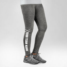 Hockey Performance Tights Team Name