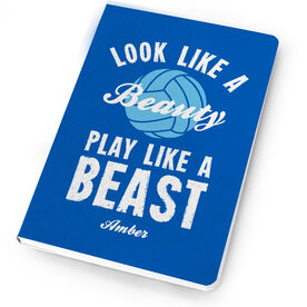 Volleyball Notebook Look Like A Beauty, Play Like A Beast