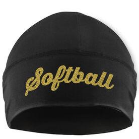 Beanie Performance Hat - Softball Script