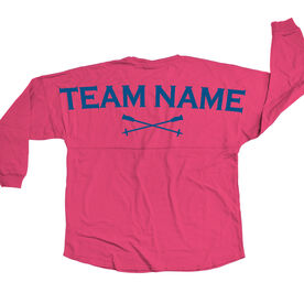 Skiing Statement Jersey Shirt Skiing Team Name