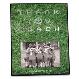 Soccer Photo Frame Thank You Coach