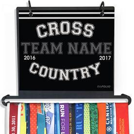 BibFOLIO Plus Race Bib and Medal Display Cross Country Team