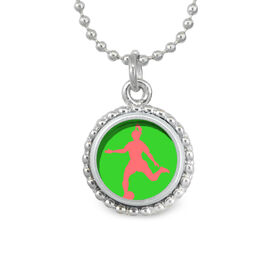 Soccer Girl SportSNAPS Necklace