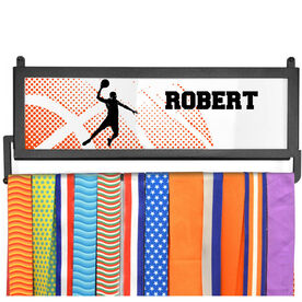 AthletesWALL Medal Display - Halftone Sunrise