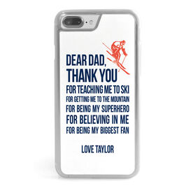 Skiing iPhone® Case - Dear Dad