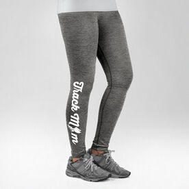 Track and Field Performance Tights Track Mom