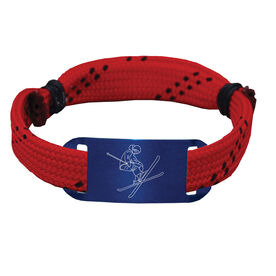 Skiing Lace Bracelet Skier Adjustable Sport Lace Bracelet