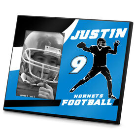 Football Photo Frame Personalized QB