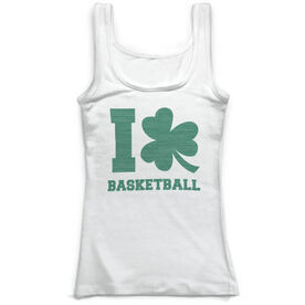 Basketball Vintage Fitted Tank Top - I Shamrock Basketball