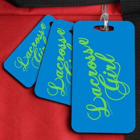 Lacrosse Bag/Luggage Tag Lacrosse Girl Script