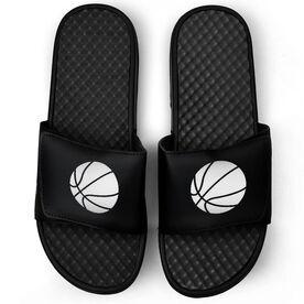 Basketball Black Slide Sandals - Basketball