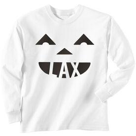 Lacrosse Long Sleeve T-Shirt - Pumpkin Lax