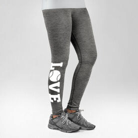 Tennis Performance Tights Love