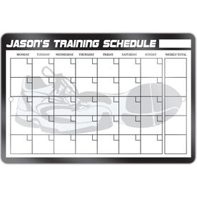 "Running 12"" X 18"" Personalized Dry Erase Training Calendar"