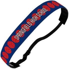 Volleyball Julibands No-Slip Headbands - Personalized Volleyball Stripe Pattern