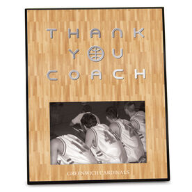 Basketball Photo Frame Thank You Coach