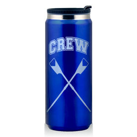 Stainless Steel Travel Mug Crew Crossed Oars