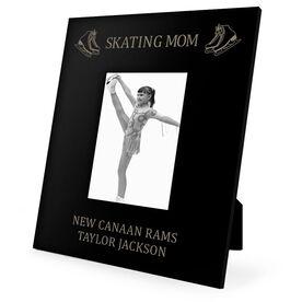 Figure Skating Engraved Picture Frame - Skating Mom