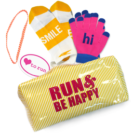 Run and Be Happy Build Your Own Gift Bag