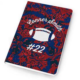 Football Notebook Flower Power