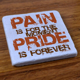 Pain is for the Moment' - Stone Coaster