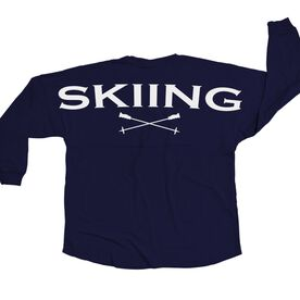 Skiing Statement Jersey Shirt Skiing