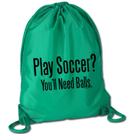 Play Soccer? You'll Need Balls Sport Pack Cinch Sack