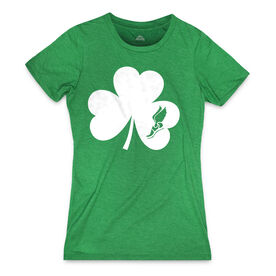 Women's Everday Tee Shamrock With Winged Foot Cutout