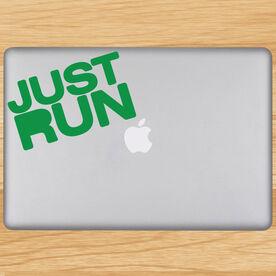 Just Run Removable GoneForaRunGraphix Laptop Decal
