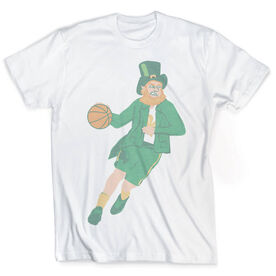 Vintage Basketball T-Shirt - Leprechaun