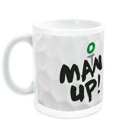 Golf Ceramic Mug Man Up