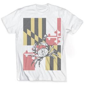 Guys Lacrosse Vintage T-Shirt - Maryland