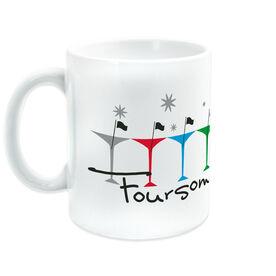 Golf Ceramic Mug Foursome