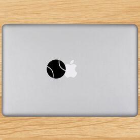 Tennis Ball Removable ChalkTalkGraphix Laptop Decal