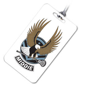 Lacrosse Bag/Luggage Tag LAX Strong - Middie