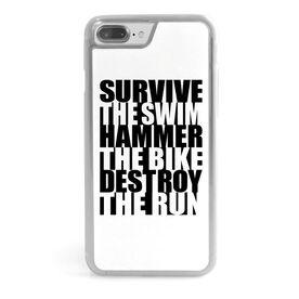 Triathlon iPhone® Case - Survive