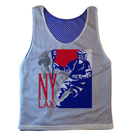 Guys Lacrosse Pinnie - New York