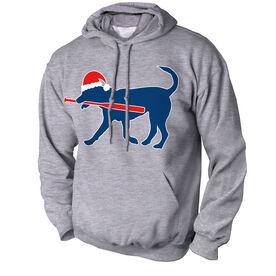 Softball Standard Sweatshirt Play Ball Christmas Dog