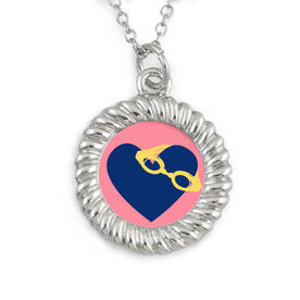 Braided Circle Necklace Swim Love