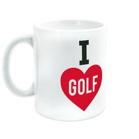 Golf Ceramic Mug I Love Golf