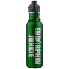 Endorphin Junkie 24 oz Stainless Steel Water Bottle