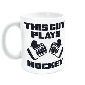 Hockey Ceramic Mug This Guy Plays