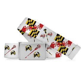 Guys Lacrosse Lifestyle Belt - Maryland