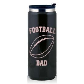 Stainless Steel Travel Mug Football Dad