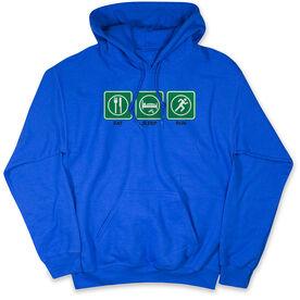 Running Standard Sweatshirt Eat Sleep Run