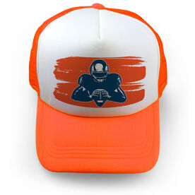 Football Trucker Hat - Ready For Anything