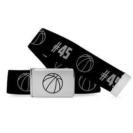 Basketball Lifestyle Belt Number Pattern