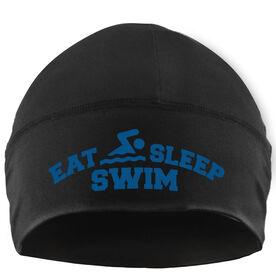Beanie Performance Hat - Eat Sleep Swim