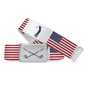 Golf Lifestyle Belt American Flag
