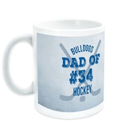 Hockey Ceramic Mug Team Dad Of